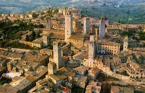 Ciudad medieval de San Gimignano