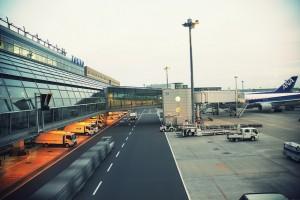 Imagen del exterior de un aeropuerto