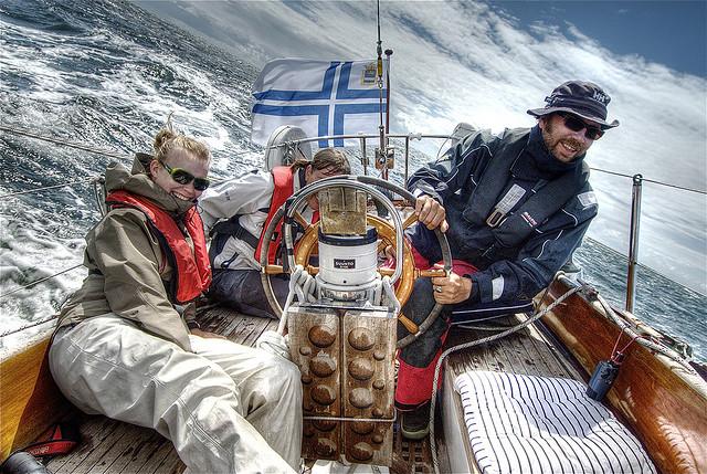 Viaje en barco desde Dinamarca a Suecia