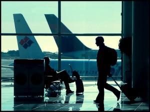 Avión de Spanair en el Aeropuerto de El Prat