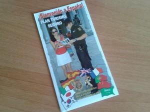 Folleto del Plan de Turismo Seguro de España