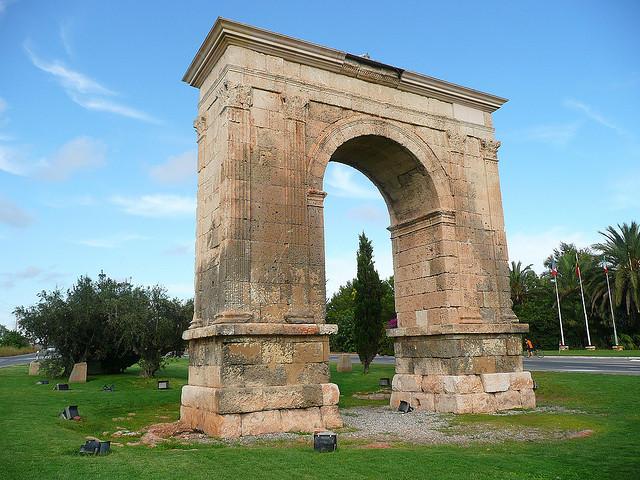 Arco de Barà en Tarragona