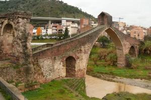 Puente del Diablo en Martorell (Barcelona)