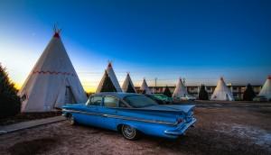 Wigwam Motel en Holbrook (Ruta 66)