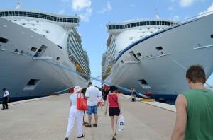 Cruceros de Royal Caribbean en Cozumel (México)