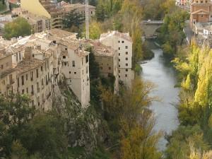 Vista del río Júcar a su paso por Cuenca