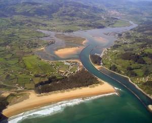 Rodiles en la Costa Verde de Asturias